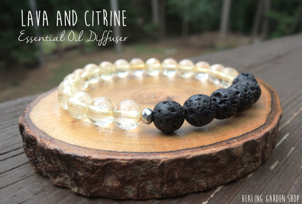 Lava and Citrine by RockMyZen.com