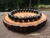 Golden Sheen Obsidian for Negative Energy Protection