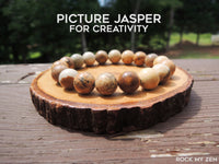 Picture Jasper for Creativity by Rock My Zen