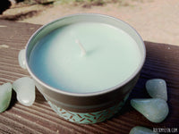 Green Aventurine Prosperity Soy Candle from RockMyZen.com
