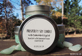 Prosperity Bracelet and Candle Bundle by Rock My Zen