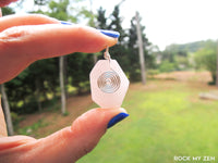 Rose Quartz Pendant by Rock My Zen