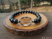 Black Tourmaline and Smokey Quartz for Negative Energy Protection by RockMyZen.com
