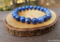 Sodalite and Lapis Lazuli for Stress and Anxiety Relief by RockMyZen.com