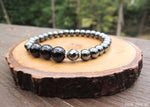 Black Tourmaline and Hematite for Empath Protection by RockMyZen.com