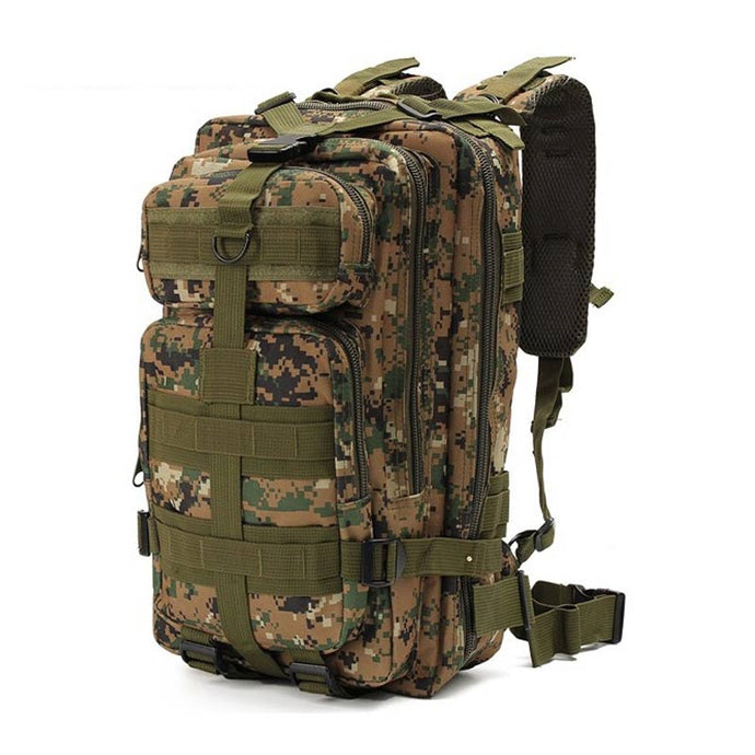 38a05fe940ae 1000D Nylon Tactical Backpack Military Backpack Waterproof Army Rucksack  Outdoor Sports Camping Hiking Fishing Hunting 28L Bag