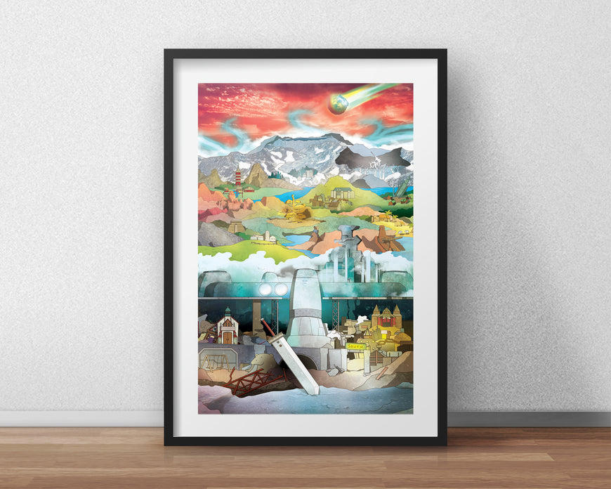 Final Fantasy 7 - Art Print