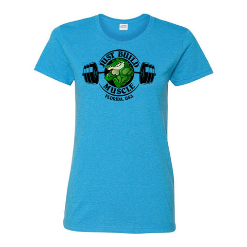 "T Shirt ""GATOR"" Woman heather saphire"