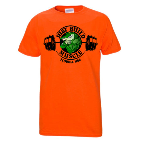 "T Shirt ""Gator"" orange"