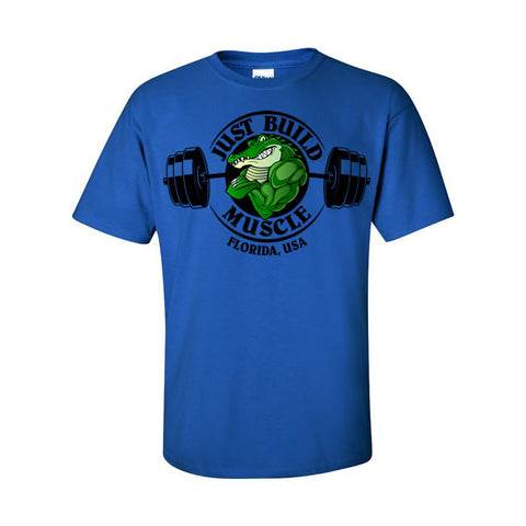 "T Shirt ""Gator"" royal blue"