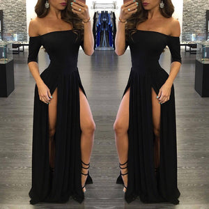Women Sexy Formal Prom Dress Party Ball Gown Evening Long Dress