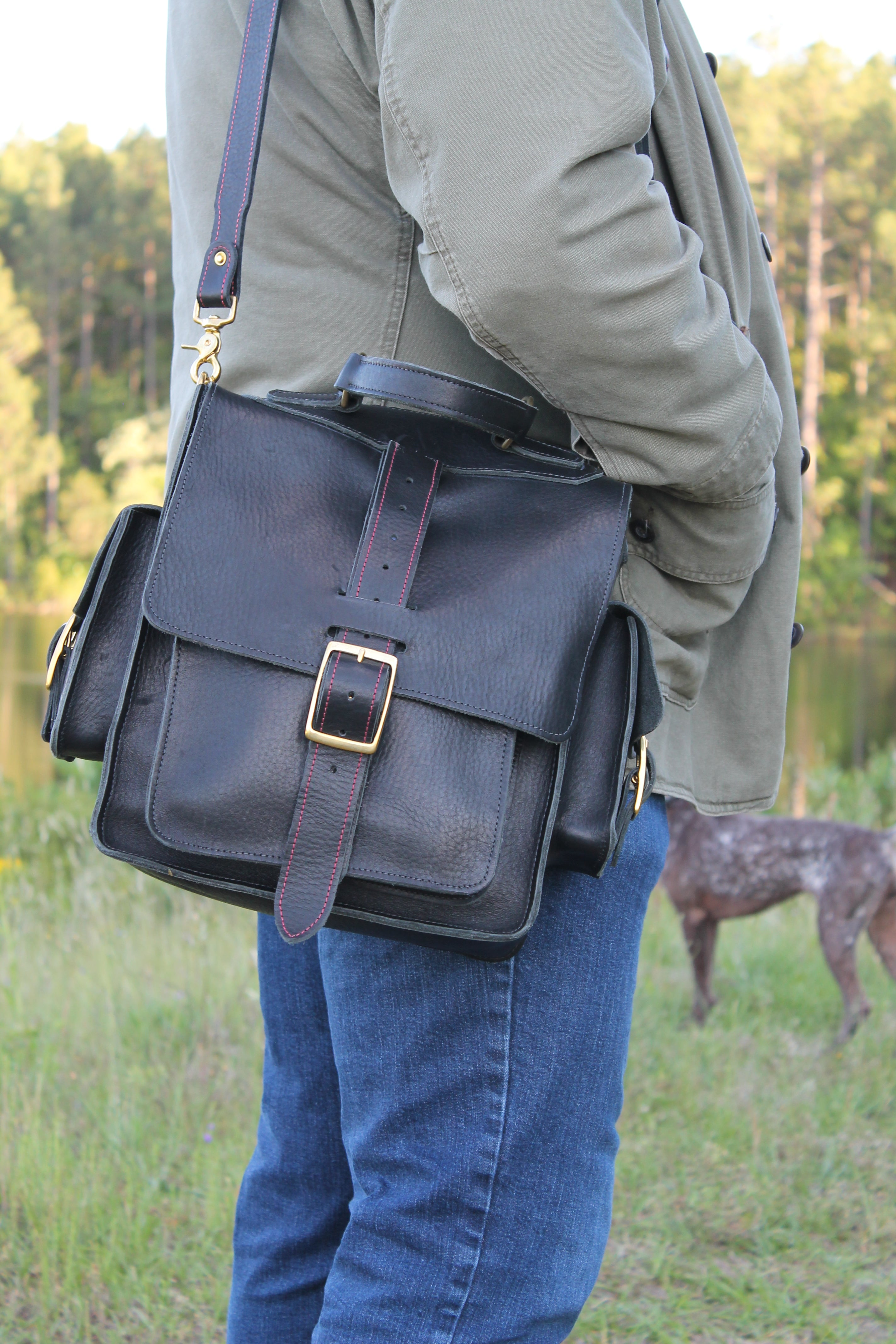 Gentry Leather 6.9 Messenger