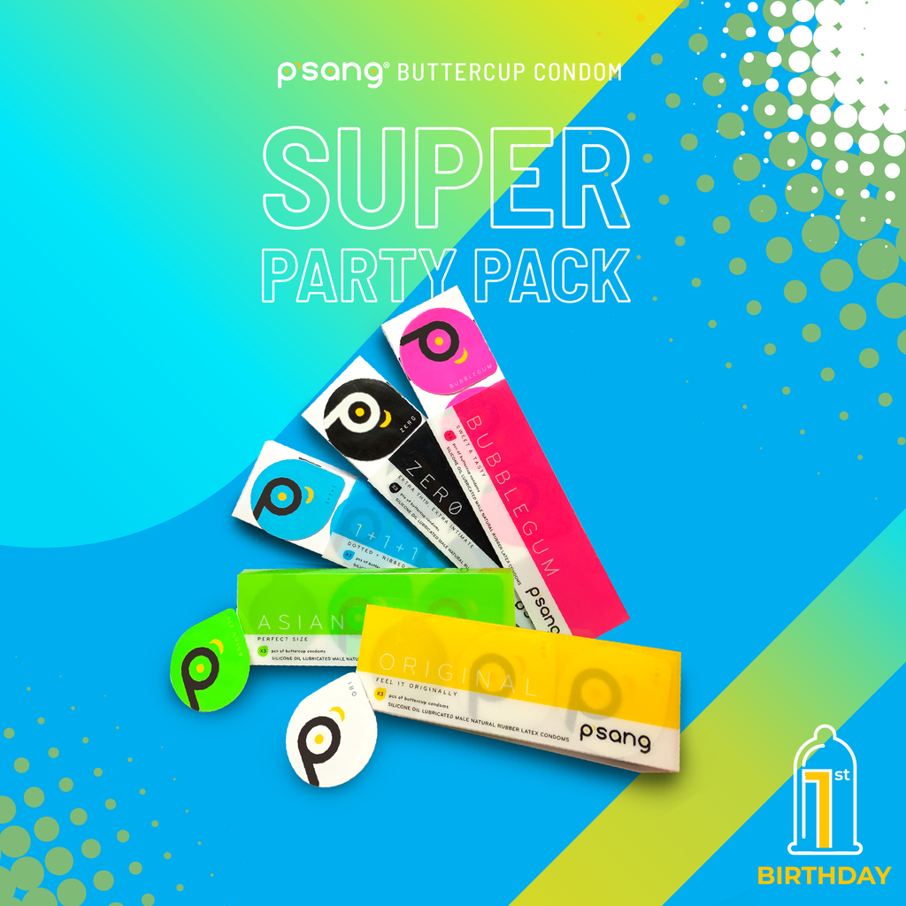 P'SANG SUPER PARTY PACK. Delivers condoms to you discreetly to your doorstep in Malaysia.