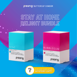 P'SANG - Malaysia Buttercup Condom. Order online and get the condoms delivered discreetly to your doorstep. Stay at Home Delight Bundle. MCO Malaysia 2020
