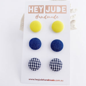 Stud Earrings 3 pack