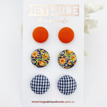 Load image into Gallery viewer, Stud Earrings 3 pack