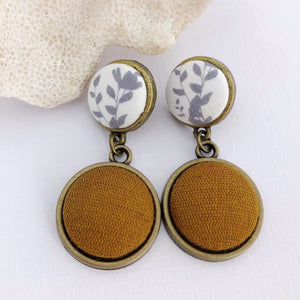 Antique Bronze Double Drops