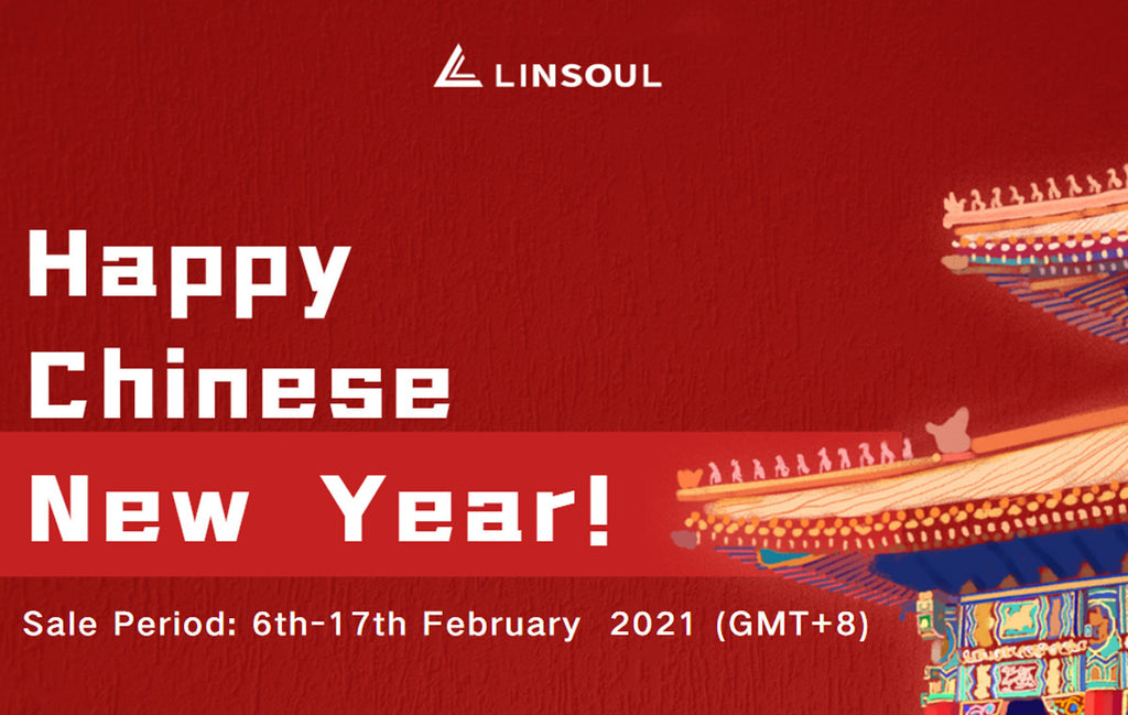 Linsoul Audio Chinese New Year Sale 2021