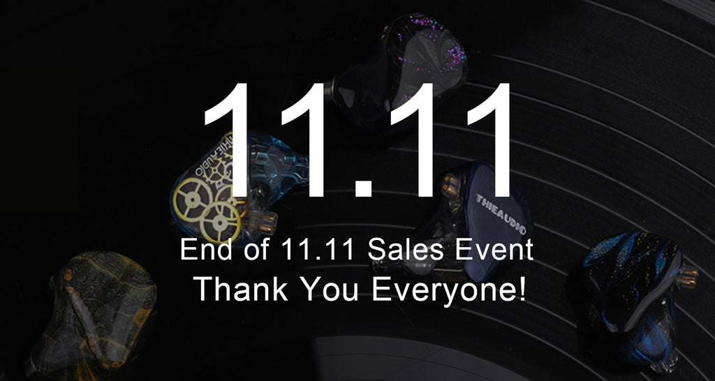 End of Linsoul Audio 11.11 Sales Event 2020