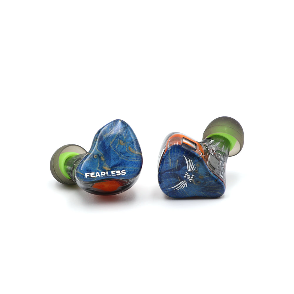 Fearless Audio S8Z S8F S8P 8BA CIEM customized faceplate