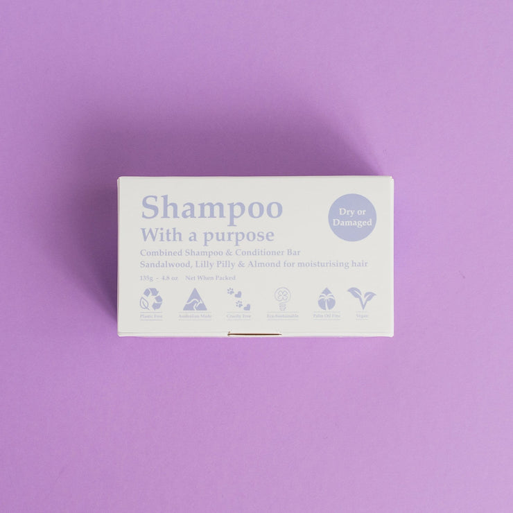 Shampoo With A Purpose - Dry Or Damaged-Shampoo With A Purpose-Someday Green Co