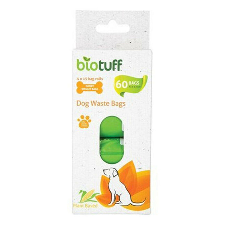 Biotuff - Dog waste bag 4 pack refill-Biotuff-Someday Green Co