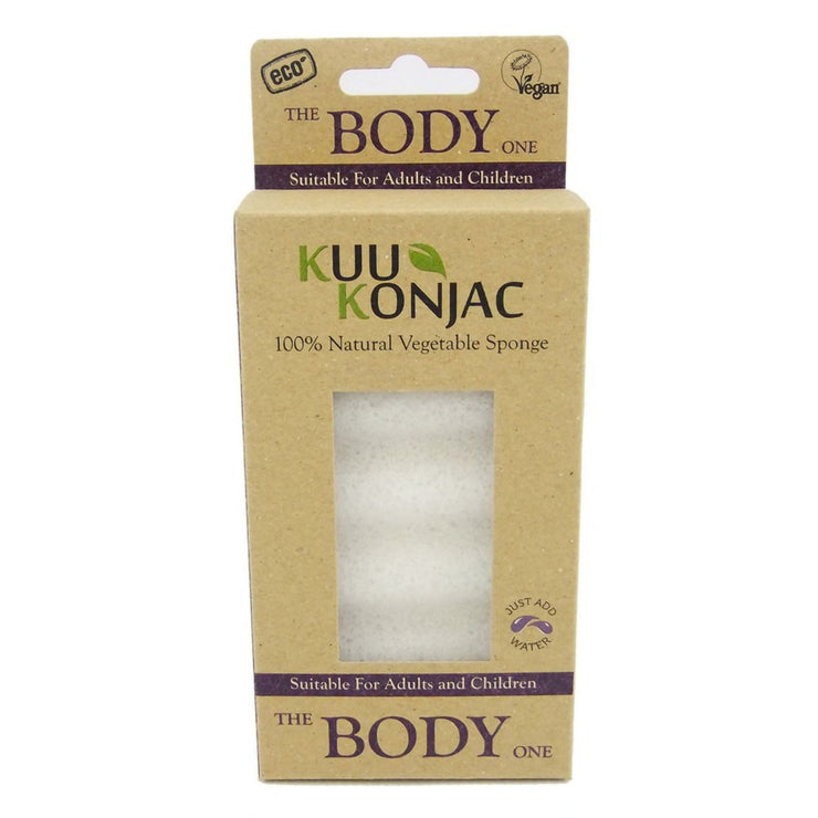 KUU Konjac 6 Wave Body Sponge-Kuu Konjac-Someday Green Co