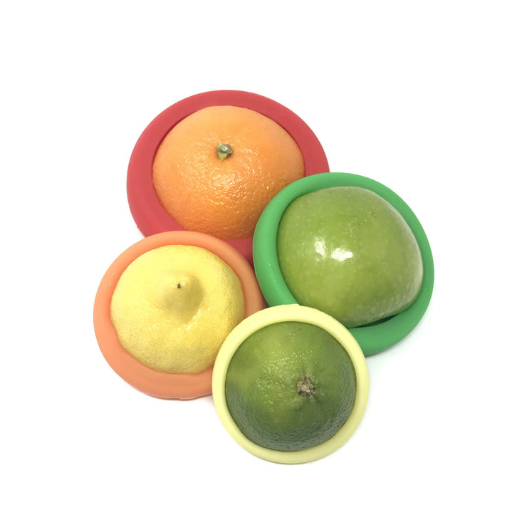 Little Mashies - leftover lids set of 4 lids-LITTLE MASHIES-Someday Green Co