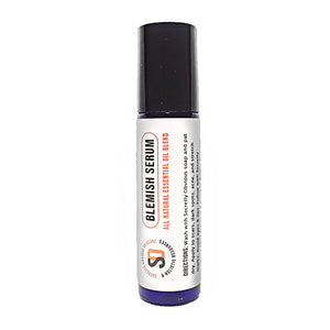 Secretly Obvious Blemish Serum Roller for acne, scars, hyperpigmentation, darkspots, ingrown hairs, and cystic acne made from essential oils