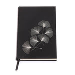 Gingko Leaf Faux Leather Journal - Salix Intimates