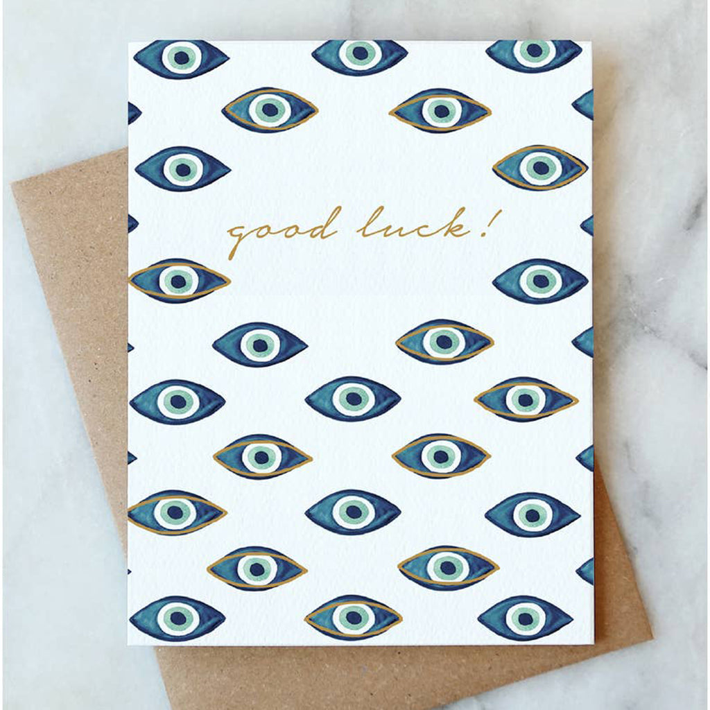 Evil Eye Card - Salix Intimates