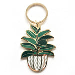 Rubber Tree Keychain - Salix Intimates