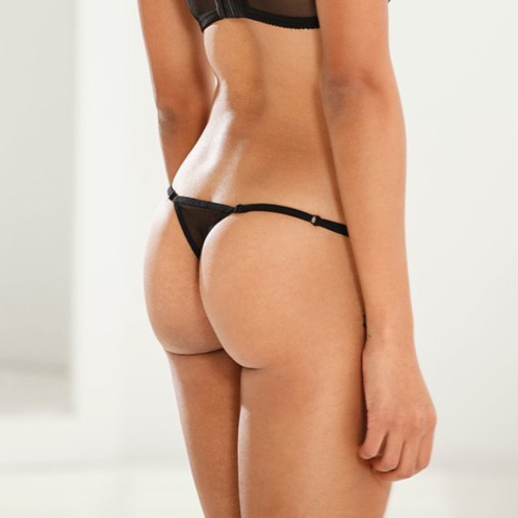Malla Adjustable String Thong - Salix Intimates