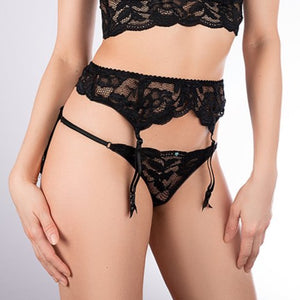Fortuna Garter Belt - Salix Intimates
