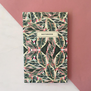 Green Leaf Notebook - Salix Intimates