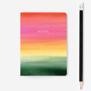 Ombré Mini Notebook
