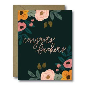 Congrats Fuckers Card - Salix Intimates