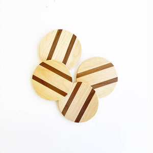 Wooden Coasters - Salix Intimates