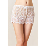 Victorian Lace Tap Shorts - Salix Intimates