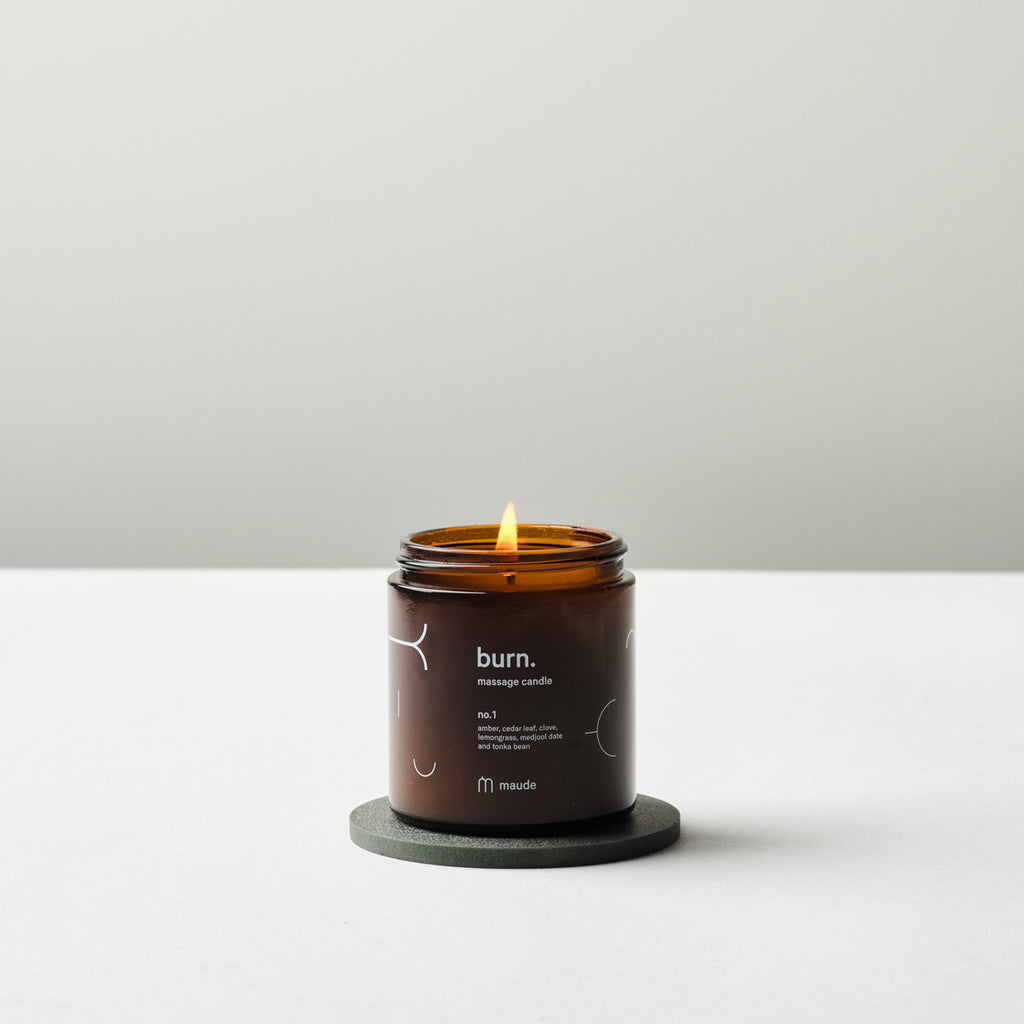 4 oz Burn Massage Candle - Salix Intimates