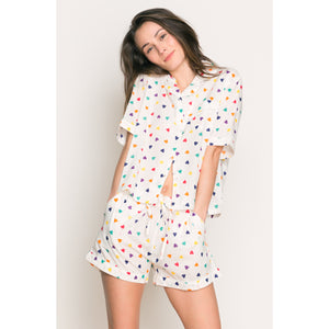 Sleep To Dream PJ Set With Shorts - Salix Intimates