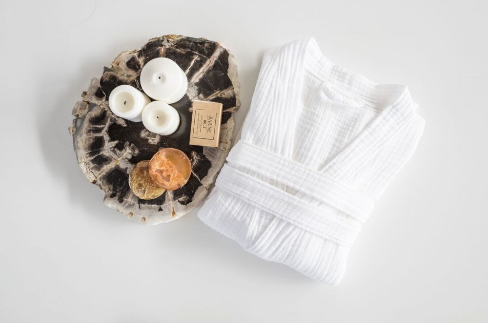 Cloud Cotton Bathrobe - Salix Intimates