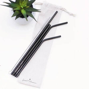 Colorful Stainless Steel Straw Kit - Salix Intimates