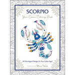 Scorpio: Your Cosmic Coloring Book 24 Astrological Designs