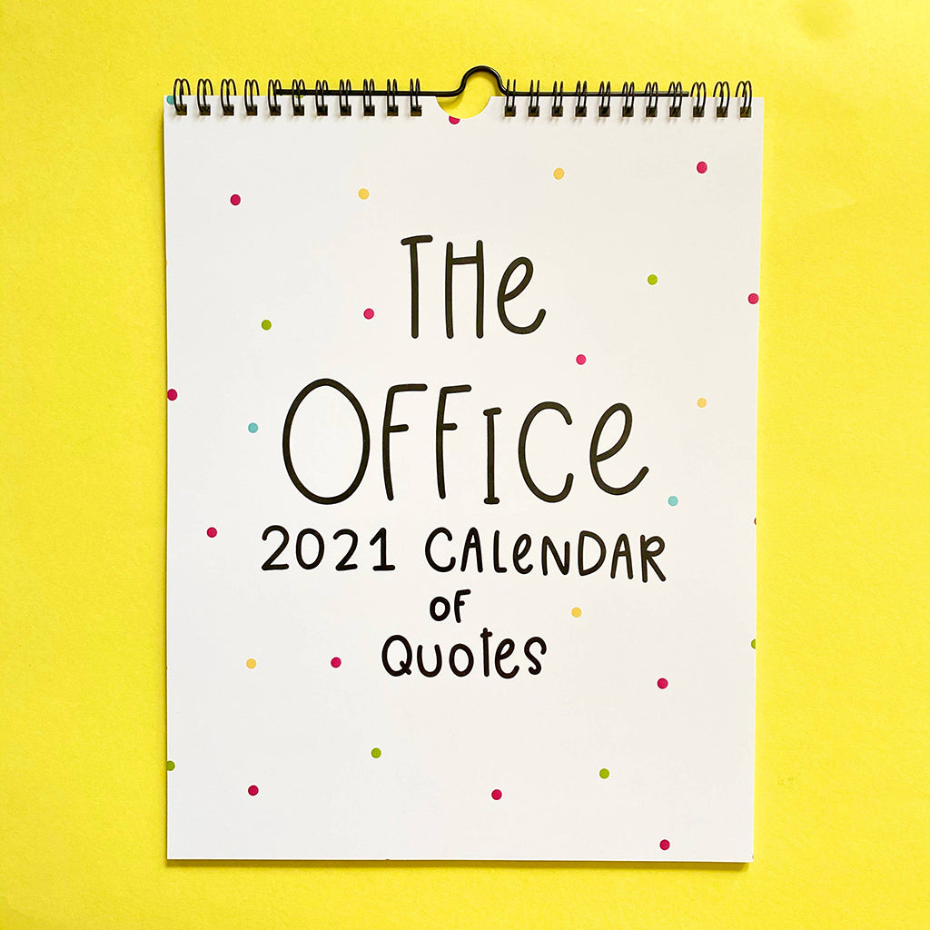 2021 The Office Calendar