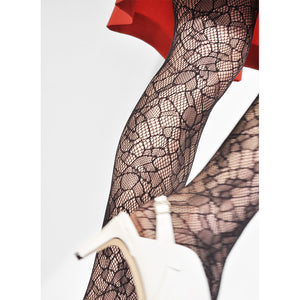 Edith Lace Tights - Salix Intimates