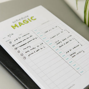 Daily Schedule Magic To-Do List Planner Notepad