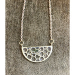 Small Foraged Botanical Honeycomb Necklace - Salix Intimates