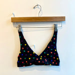 Organic Cotton High Point Bralette