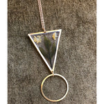 Foraged Botanicals Triangle Necklace - Salix Intimates